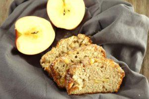 Cinnamon Glazed Apple Bread