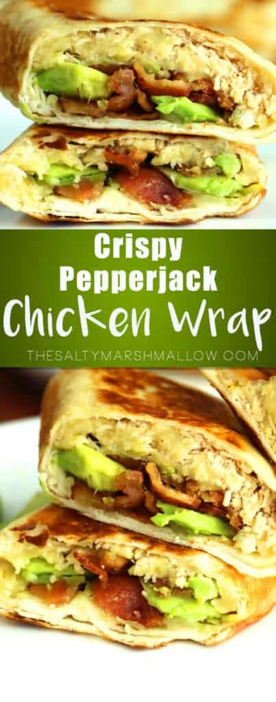 pinterest-crispy-chicken-wrap