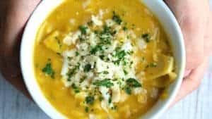 Butternut Squash Lasagna Soup
