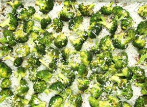 Parmesan Ranch Roasted Broccoli