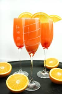 Holiday Mimosa Punch