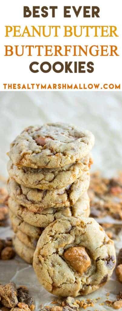 pinterest peanut butter butterfinger cookies