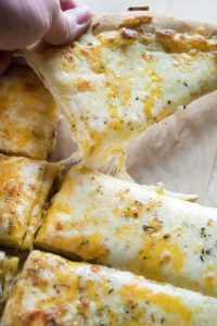 Cheese Bread Sticks with 30 Minute Miracle Dough