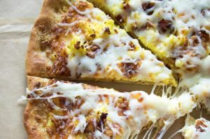 Breakfast Pizza with Easy Miracle Pizza Dough