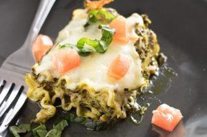 Sausage Pesto Lasagna Rolls