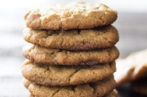 Easy Maple Peanut Butter Cookies