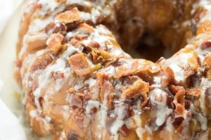 Sweet Cream Bacon Monkey Bread