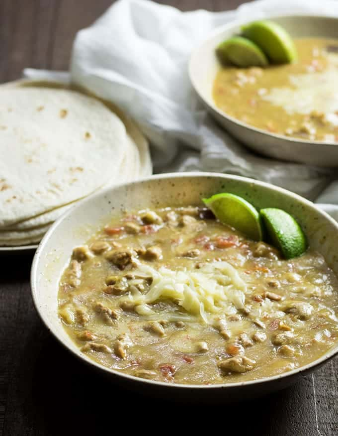 crockpot pork green chili