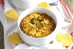 Slow Cooker Cheesy Nacho Soup