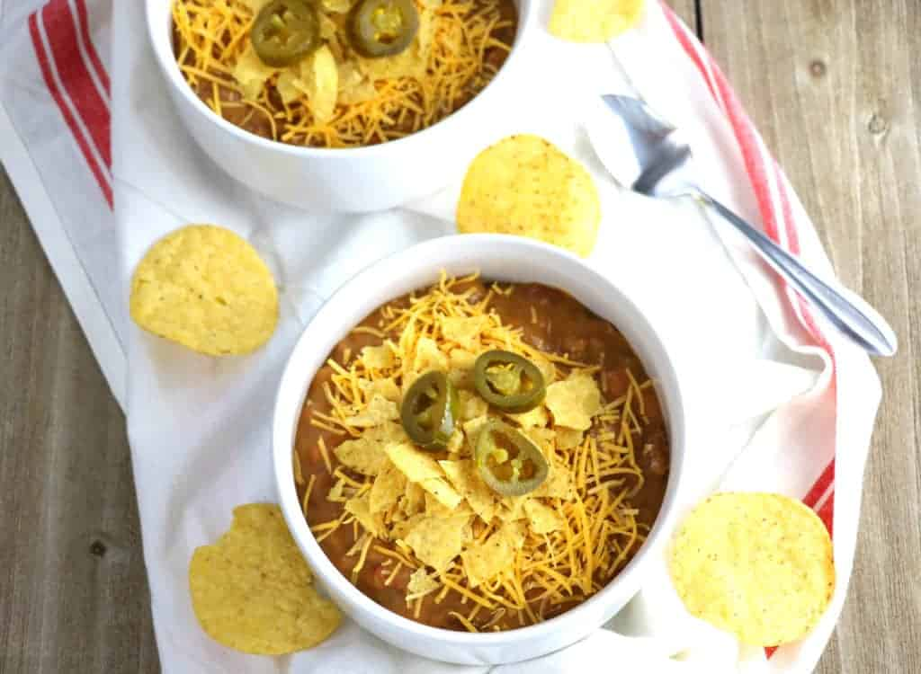 Cheesy Nacho Soup