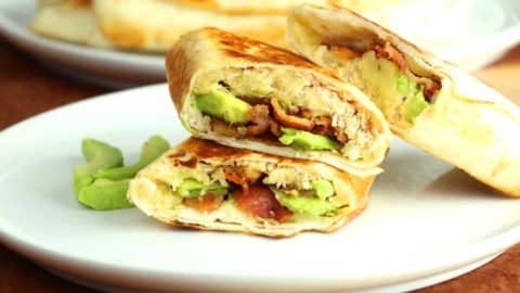 Crispy Pepper Jack Chicken Wrap