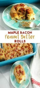 pinterest maple bacon peanut butter cinnamon rolls