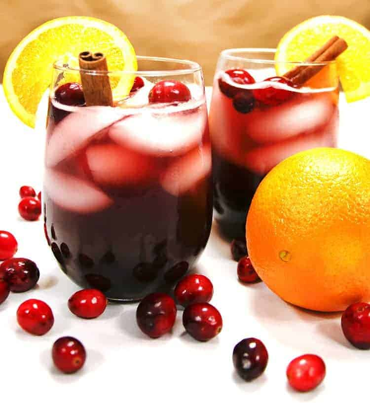 Sparkling cranberry sangria the salty marshmallow sparkling cranberry sangria thecheapjerseys Choice Image
