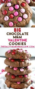pinterest chocolate valentine's day cookies