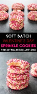 soft batch sprinkle cookies