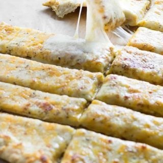 easy homemade cheese bread sticks