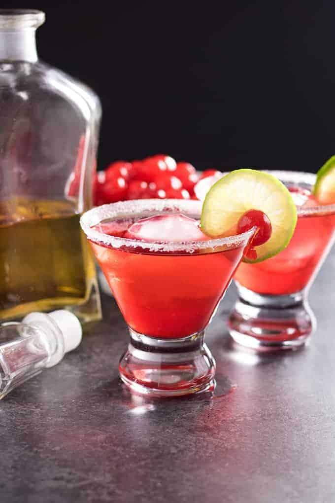 bourbon cherry cocktail