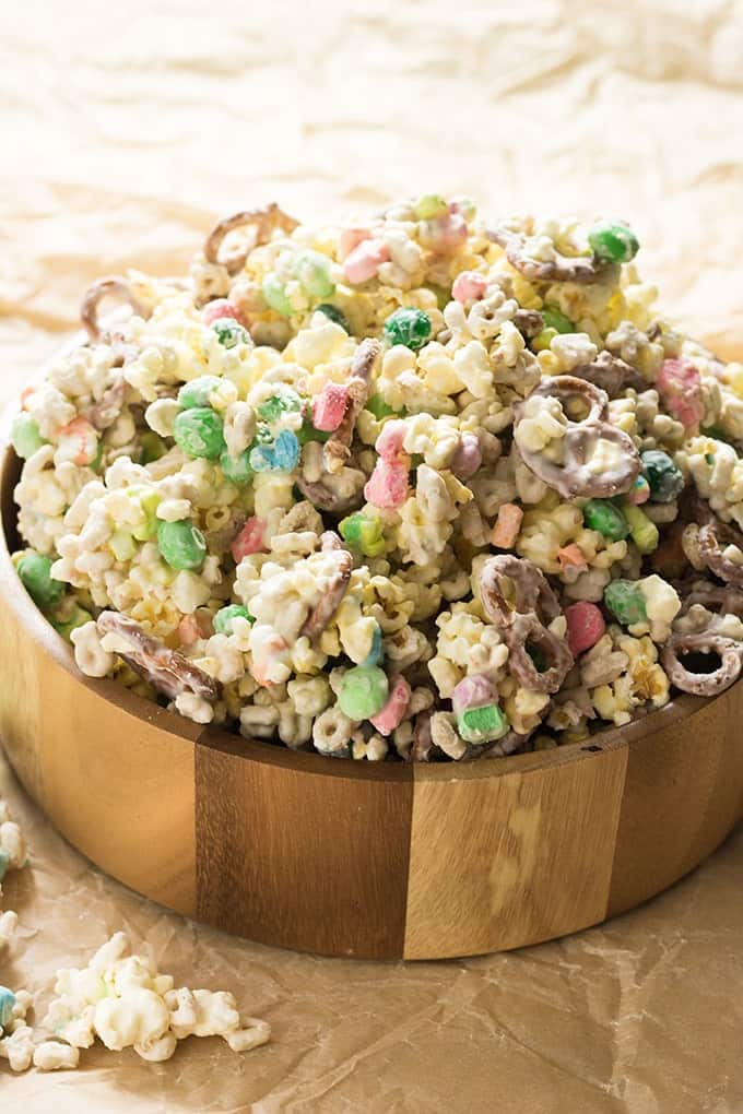 Lucky Charms Snack Mix The Salty Marshmallow