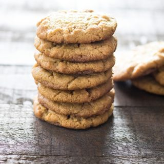 maple peanut butter cookies