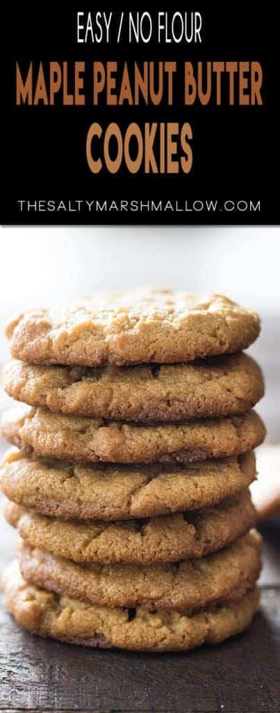 pinterest maple peanut butter cookies