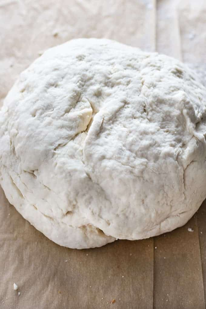 ball of pizza dough