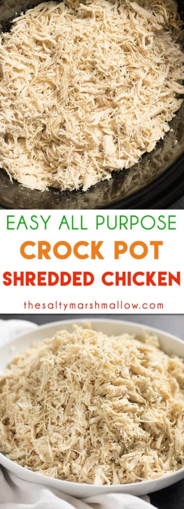 Crockpot Shredded Chicken