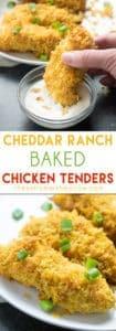 Cheddar Ranch Chicken Tenders