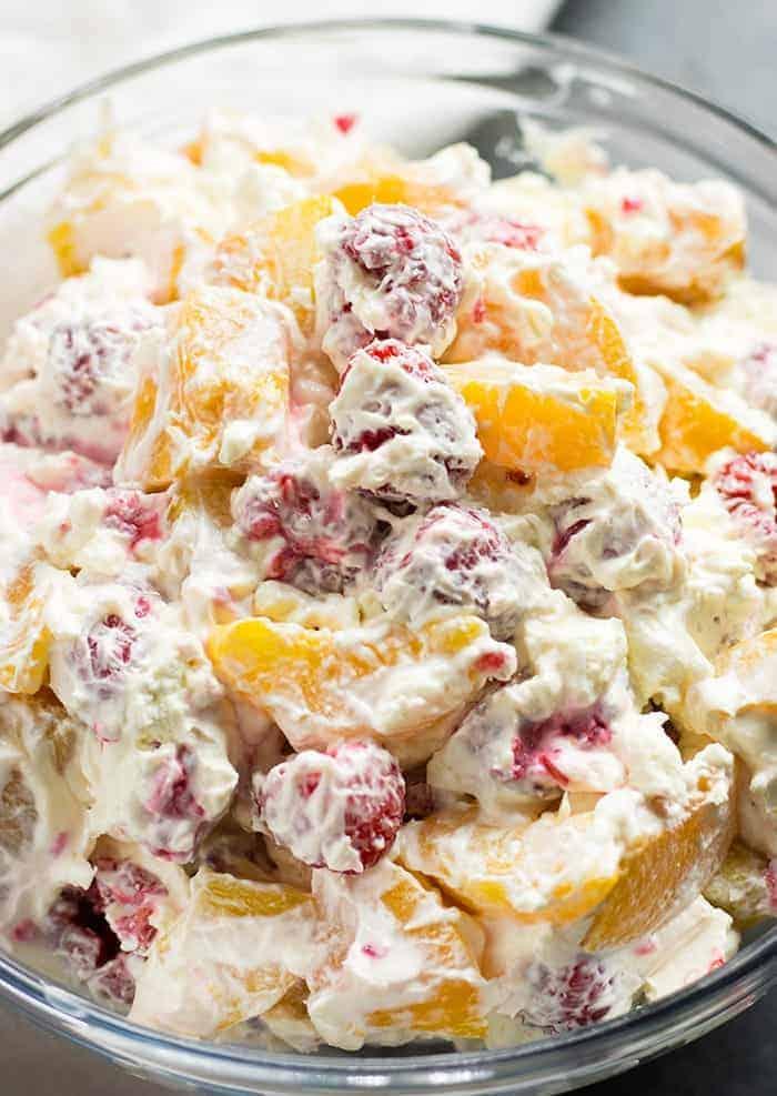berry cheesecake salad