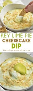 Key Lime Pie Cheesecake Dip
