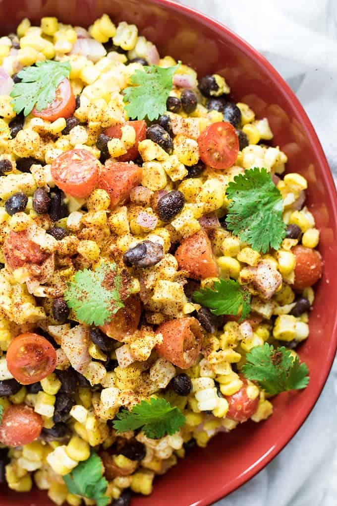 corn salad with black beans