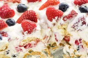 berry icebox cake