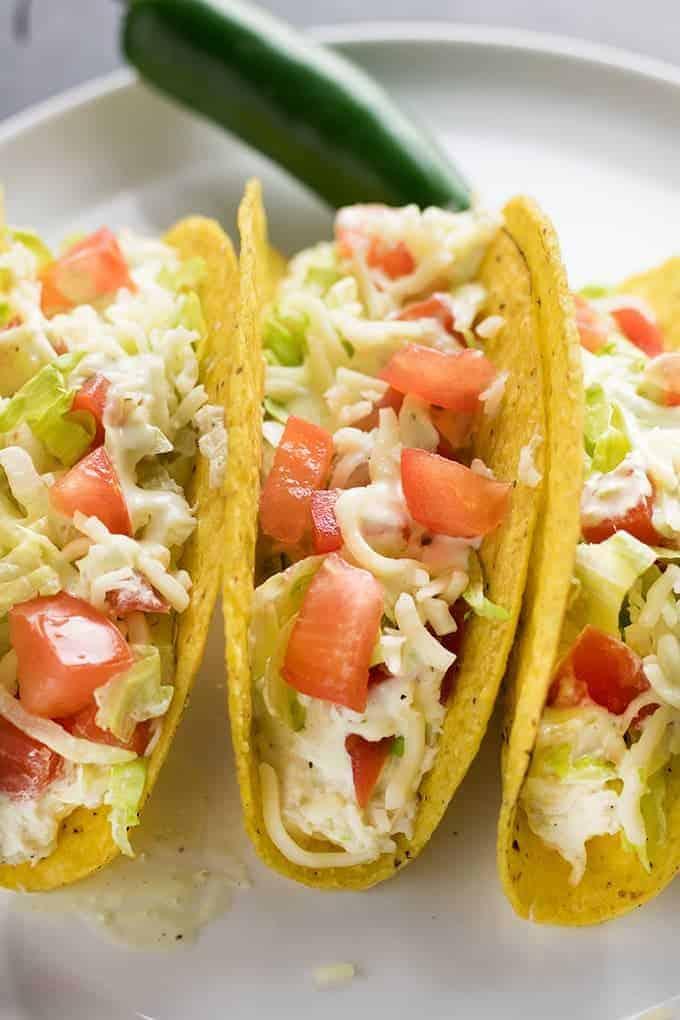 crockpot jalapeno chicken tacos