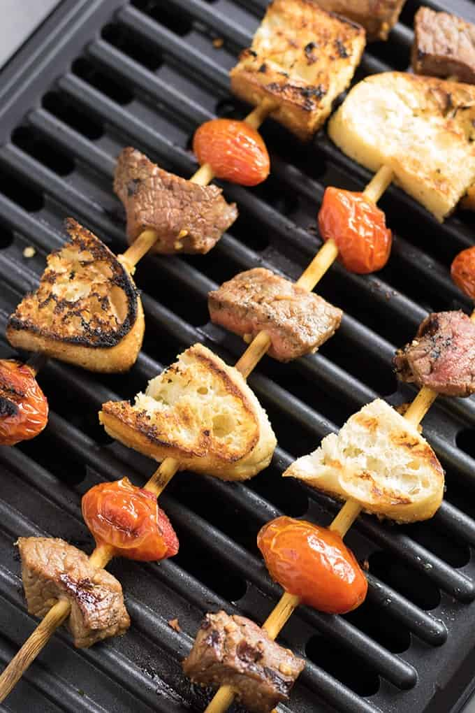 grilled steak kabobs