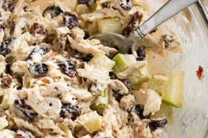 cranberry chicken salad