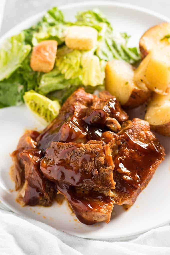 crock pot country style pork ribs without bbq sauce