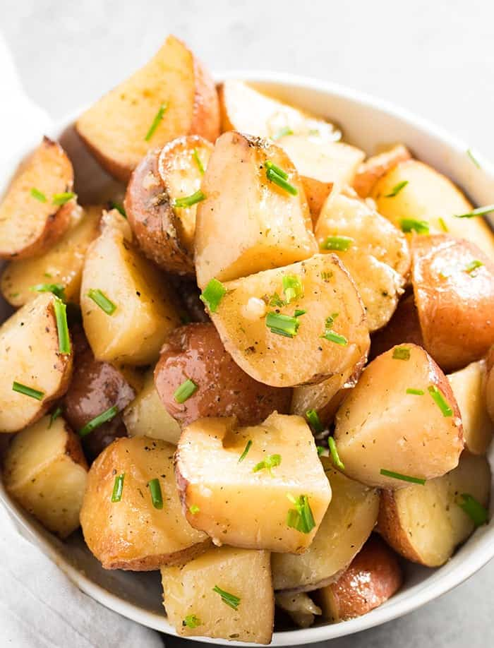crockpot red potatoes with ranch and garlic