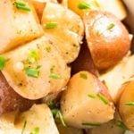 crockpot garlic ranch potatoes
