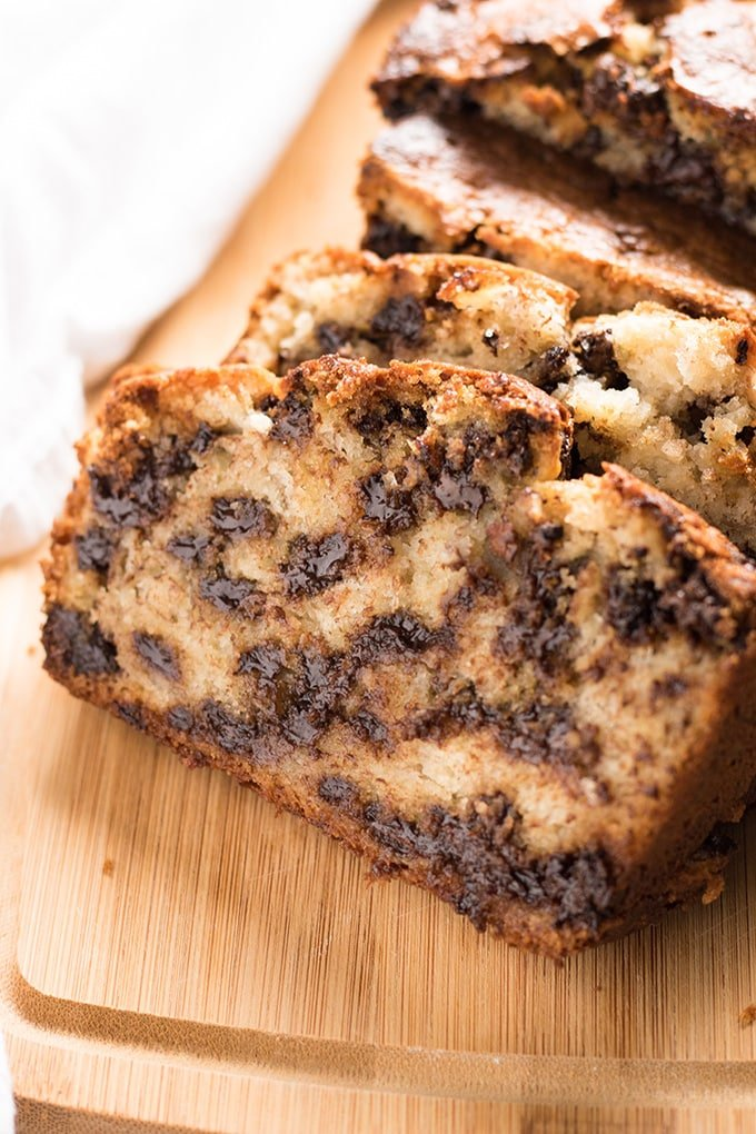 One Bowl Chocolate Chip Banana Bread The Salty Marshmallow