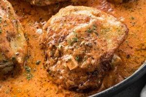 Creamy tomato basil chicken