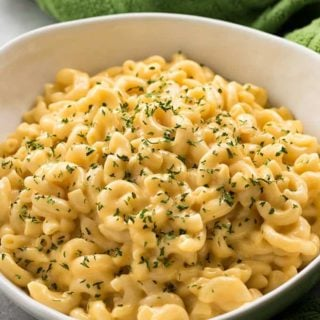 Instant pot mac and cheese is ready in 10 minutes