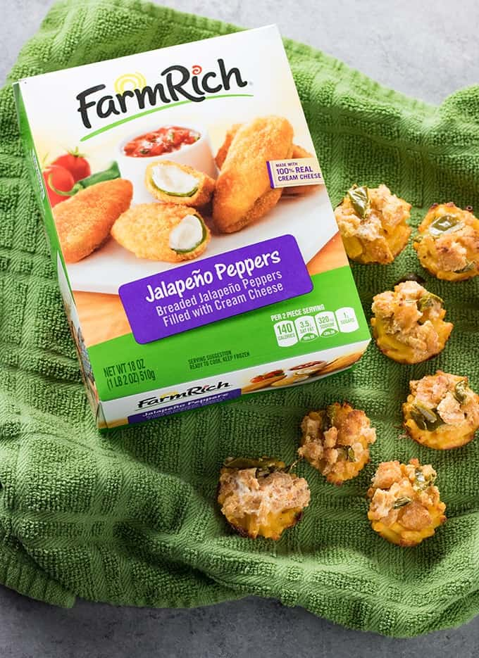 Jalapeno pepper mac and cheese cups