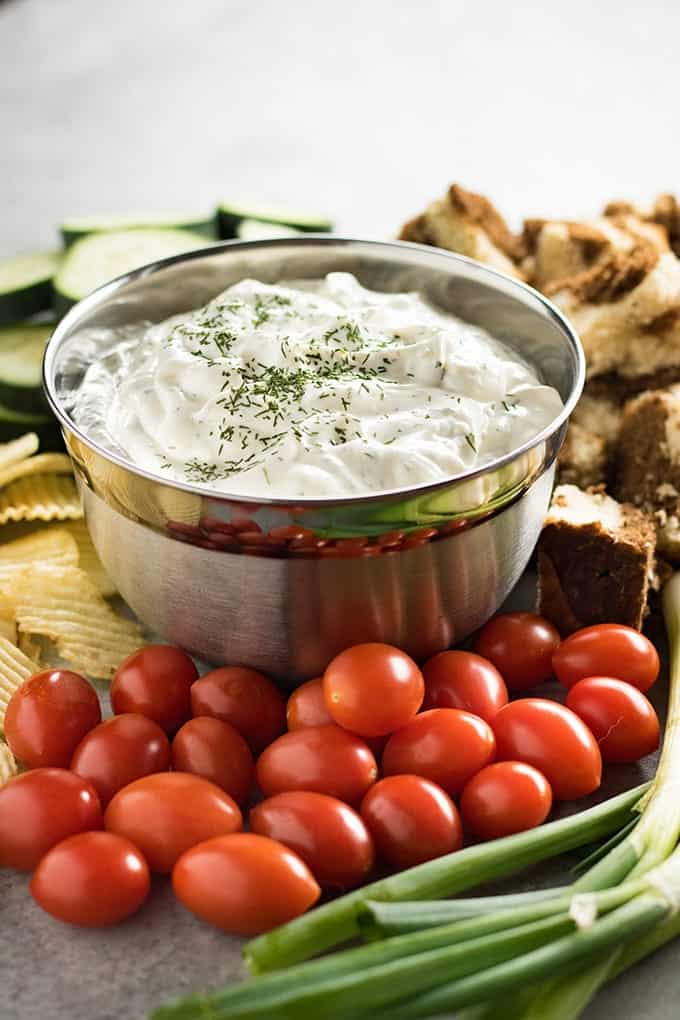 easy fresh dill dip