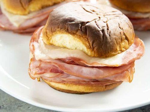 Résultats de recherche d'images pour « ham in a burger »