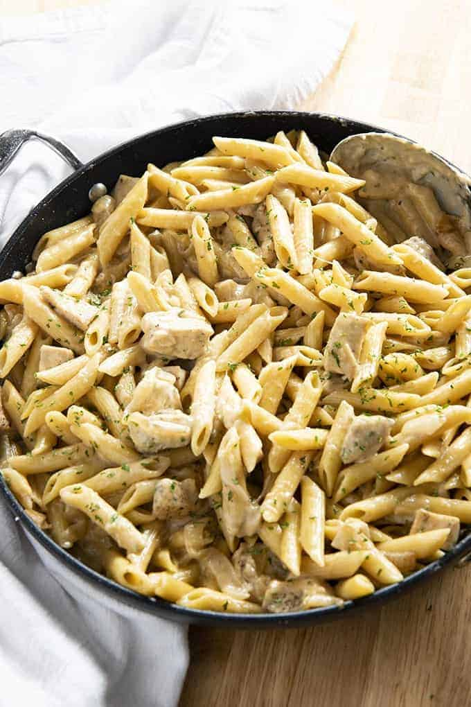 french onion chicken pasta recipe