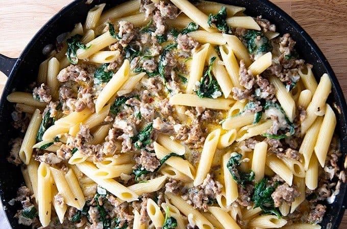 Creamy Italian Sausage Pasta The Salty Marshmallow