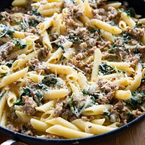 Creamy Italian Sausage Pasta