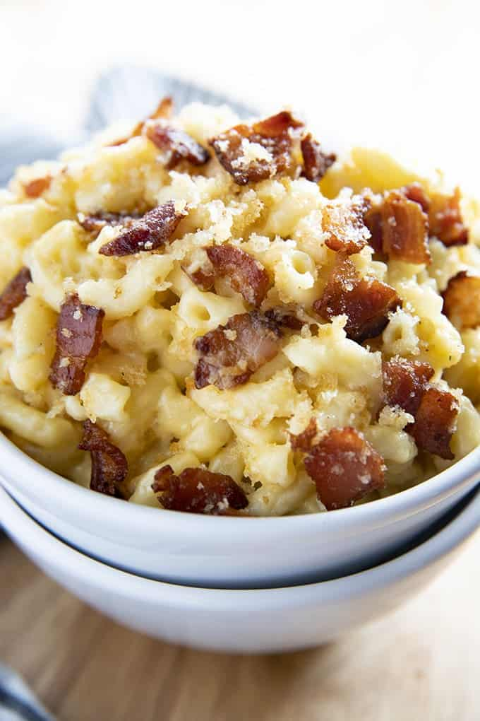 Bacon Mac and Cheese - The Salty Marshmallow