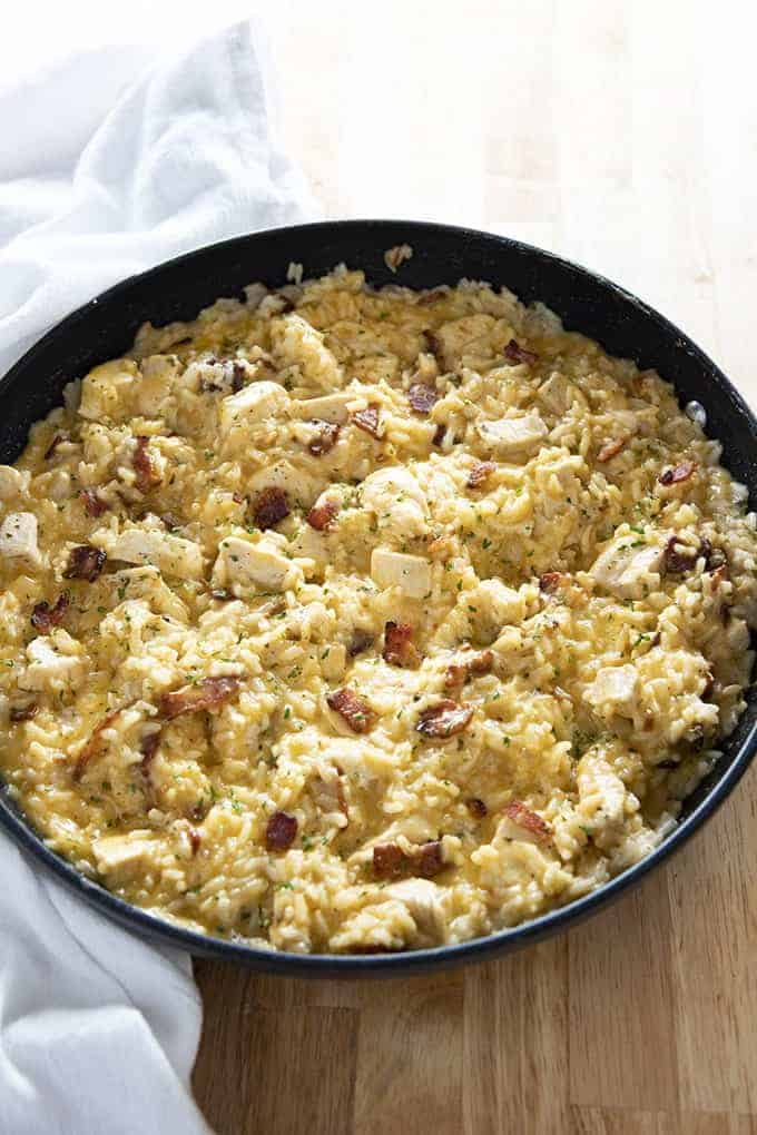 bacon ranch chicken and rice