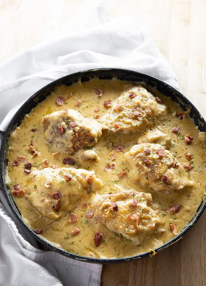smothered chicken recipe