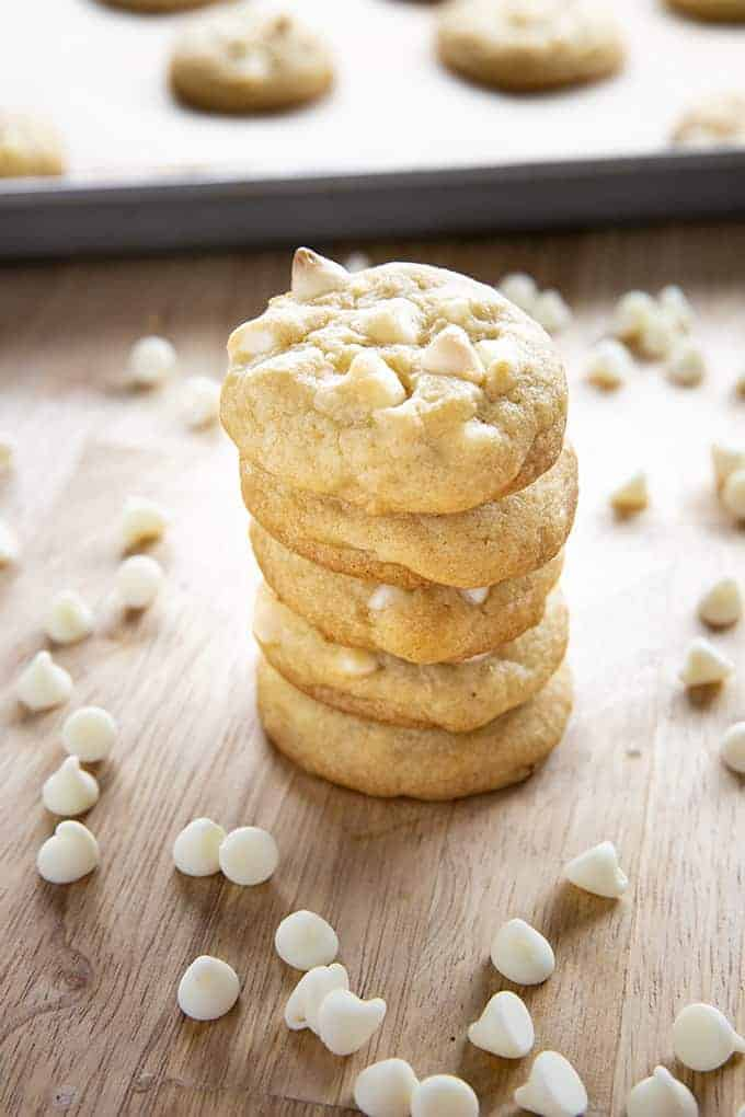 White Chocolate Chip Cookies The Salty Marshmallow